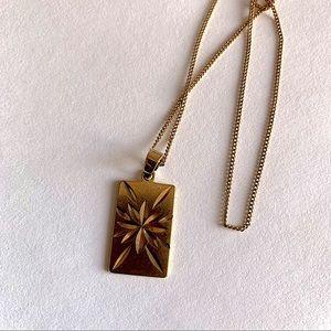 Cali Tiger 18k Gold Plated Carina Pendant Necklace